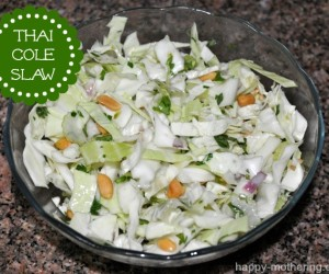 Thai Cole Slaw Recipe