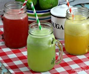 Watermelon, Orange + Cucumber Agua Fresca Recipes