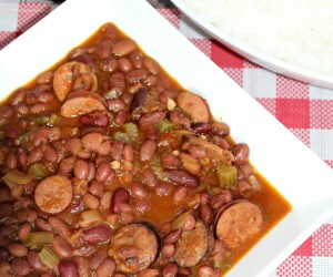 Red Beans and Rice Crockpot