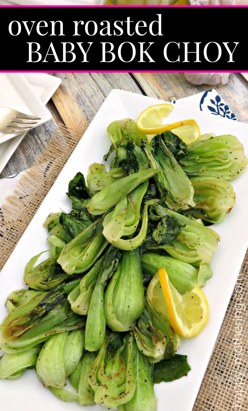 Have you wondered the best way to cook bok choy? our Oven Roasted Bok Choy is the perfect health side dish.