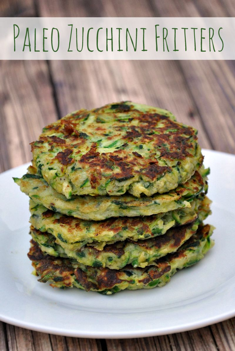 Is your garden overflowing with yummy zucchini? If you're looking for a delicious way to use your harvest, give this paleo zucchini fritters recipe a try!