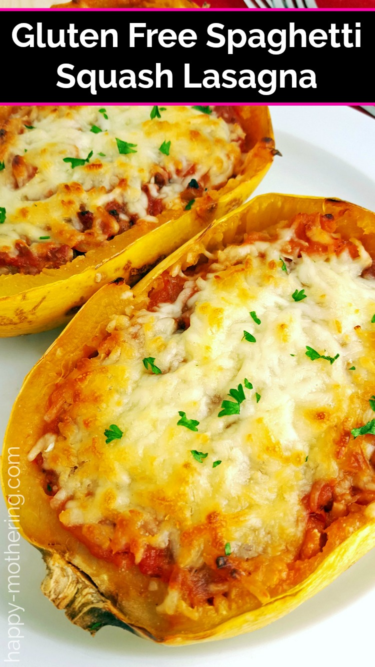 Love lasagna, but can't have it due to your gluten free diet? This Spaghetti Squash Lasagna recipe is an amazingly delicious alternative.