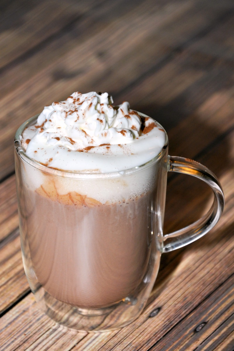 If you like hot chocolate on cold days, this will be the best homemade hot chocolate recipe you've ever tasted. It's amazingly delicious, rich and creamy!