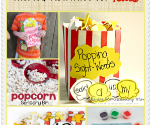 National Popcorn Day: 16 Popcorn Activities for Kids