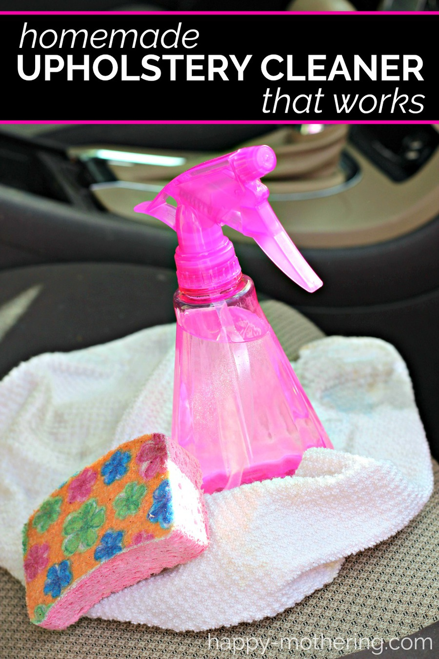 Homemade Upholstery Cleaner With Simple Ingredients Happy Mothering