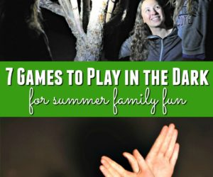 7 Games to Play in the Dark for Summer Family Fun {Plus an Energizer Prize Pack Giveaway}