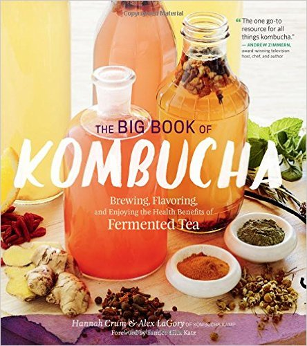 The Big Book of Kombucha is the ultimate resource for newbie and veteran kombucha brewers. It's one book you NEED on your bookshelf.