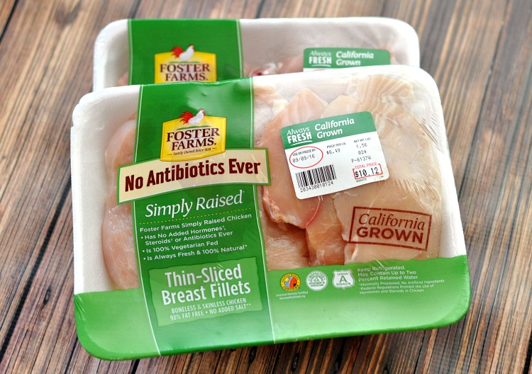 Foster Farms Simply Raised Chicken