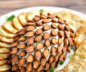 Bacon & Herb Pine Cone Cheeseball Recipe