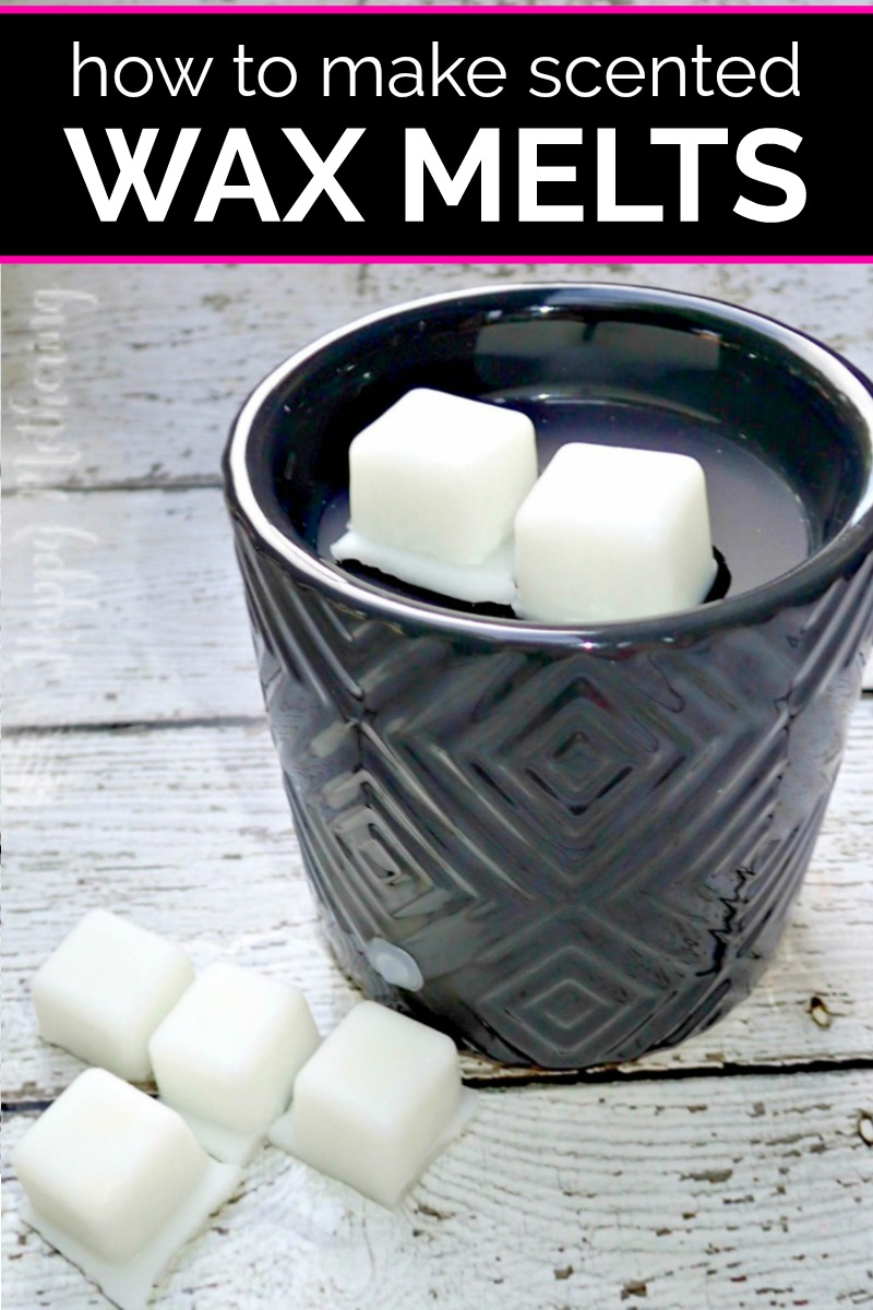 Black electric wax warmer with homemade coconut oil melts in it