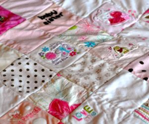 How to Turn Baby Clothes into a Beautiful Memory Quilt