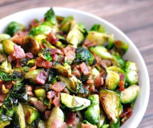 Bacon and Brussels Sprouts Family Favorite Side Dish