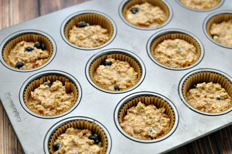 Are you looking for a delicious, healthy grab and go breakfast idea? These Blueberry Almond Baked Oatmeal Muffins and amazingly tasty and healthy too!