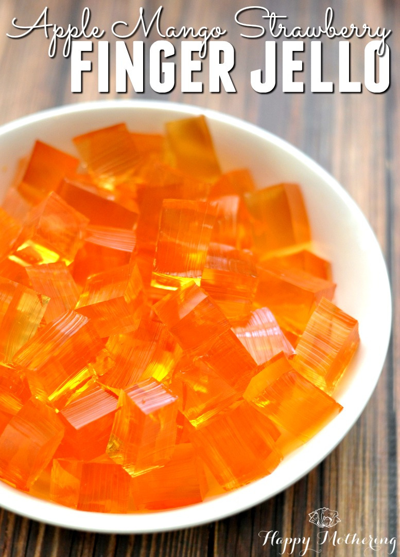 Jello is an all American tradition, one that many of us grew up with. It's so easy to make a healthy homemade finger jello without all the toxic additives.