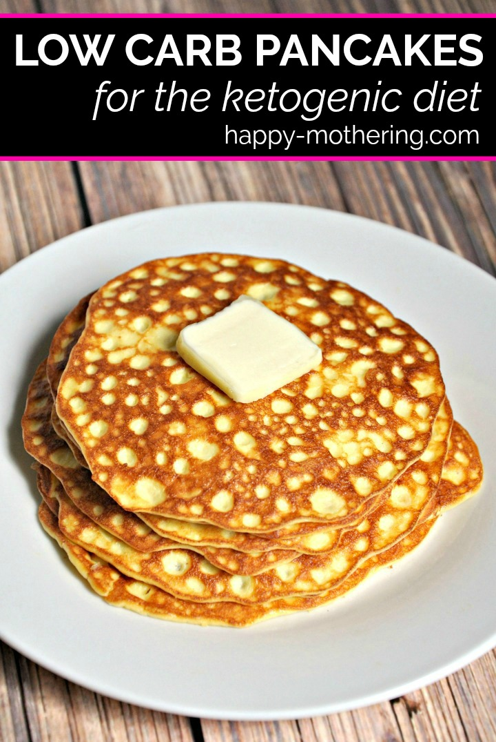 Are you trying a low carb or ketogenic diet to lose weight or improve your health? These low carb pancakes are super easy to make and adhere to a keto diet.