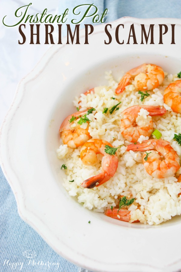 Are you a huge shrimp scampi fan? There's no need to pay a hefty price tag at a restaurant when you can make delicious Instant Pot Shrimp Scampi at home.