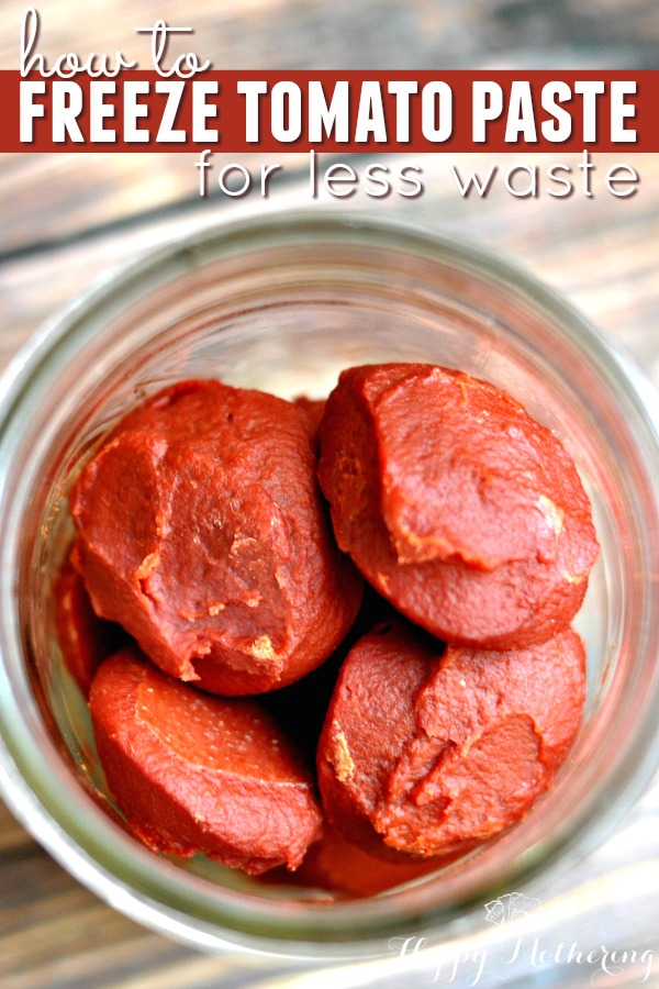 Are you sick and tired of wasting tomato paste when your recipe only calls for 1 tablespoon? We'll teach you how to freeze tomato paste for less waste.