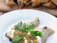 Black Bean and Green Chili Homemade Tamales