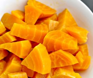 Poached Golden Beets Even My Kids Will Eat