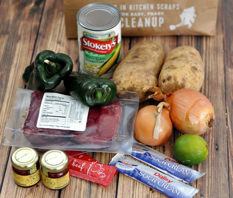 Adobo Loco Steak Ingredients from HelloFresh