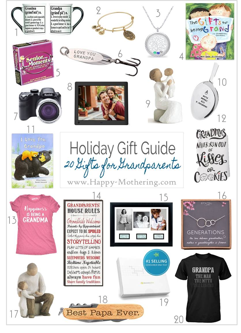 are you searching for the perfect christmas gift for a grandparent our list of 20 - Christmas Gift Ideas For Grandpa