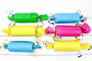 Assembled DIY Party Poppers