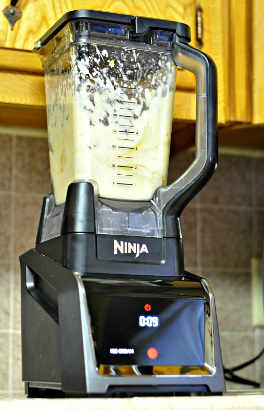 The Ninja Intelli-Sense Kitchen System makes delicious smoothies!