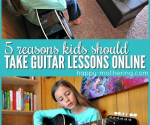 5 Reasons Kids Should Take Guitar Lessons Online