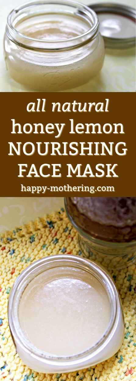 Are you looking for a delicious way to nourish your skin? Our All Natural Honey Lemon Nourishing Face Mask is chock full of ingredients your skin will love.