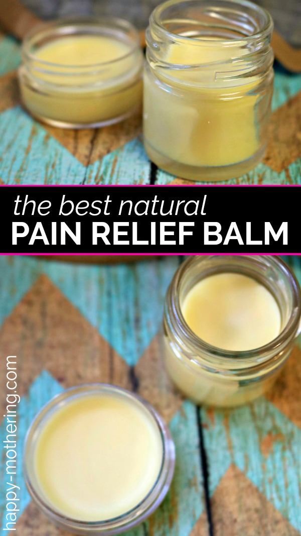 Are you looking for a natural pain relief product that works? Learn how to make a natural DIY pain relief balm that smells amazing and works great!