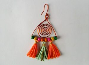 Hook attached to make dangle boho earrings
