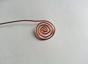 Copper twirl