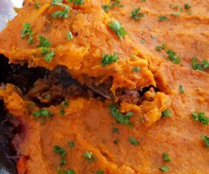 The Best Skillet Paleo Sweet Potato Shepherd's Pie