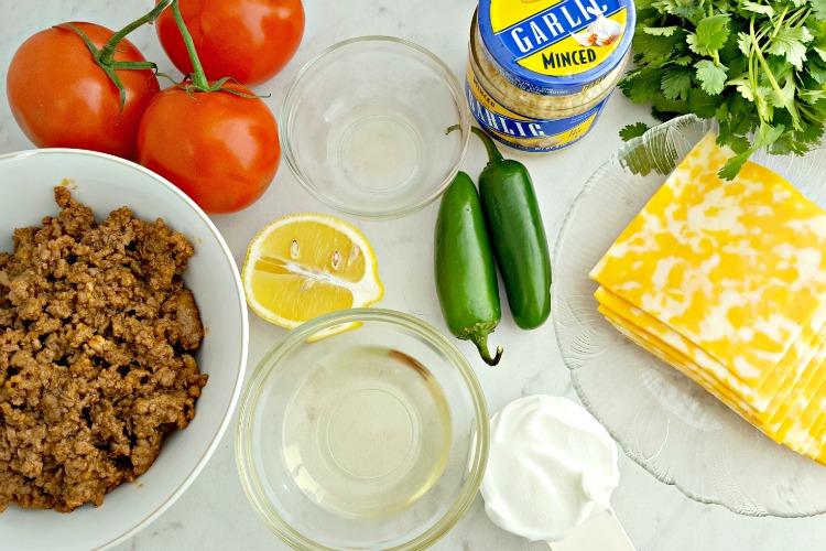 Keto Taco Shells Ingredients