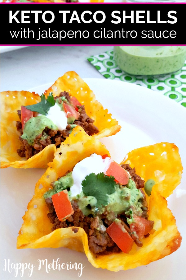 Are you looking for easy keto taco shell recipes made with cheese? Our crispy Keto Taco Shells are a great low carb alternative to tortillas!