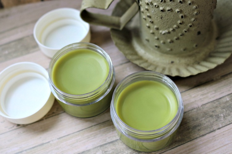 Anti-aging skin care products are top of mind now that I'm 40. Learn how to make an anti-aging Matcha Green Tea Salve with coconut oil, essential oils and other natural ingredients.