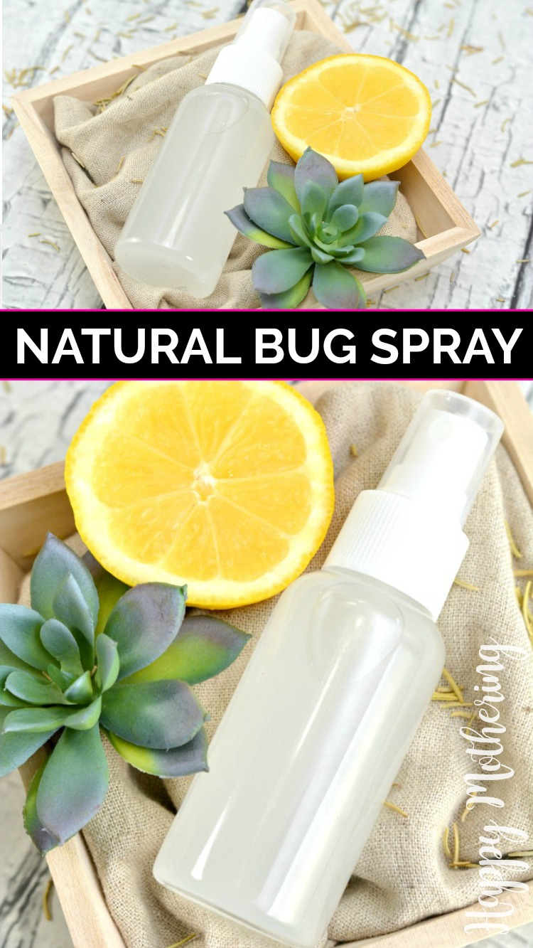 The beauty of spring brings the annoyance of bugs and insects. Learn how to make a super easy essential oil bug spray using five natural ingredients.