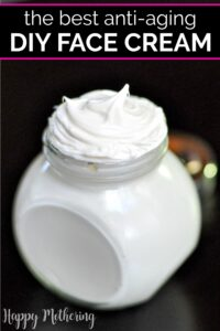 Do you deal with dry or sensitive skin? This all natural DIY Frankincense Whipped Face Cream is so nourishing and it has great anti-aging skin qualities.
