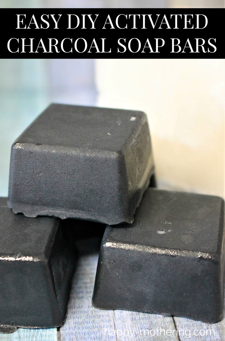 Are you looking for an easy DIY activated charcoal soap bars recipe? Our natural detox soap is handmade with shea butter melt and pour soap and has the added awesome benefits of tea tree oil. There are many uses for a black soap bar, including cleansing and detoxifying faces and skin. Safe for vegans.