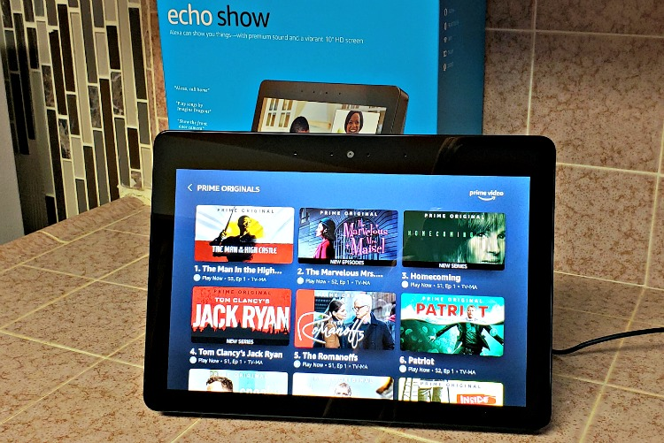 Echo Show on Prime Video