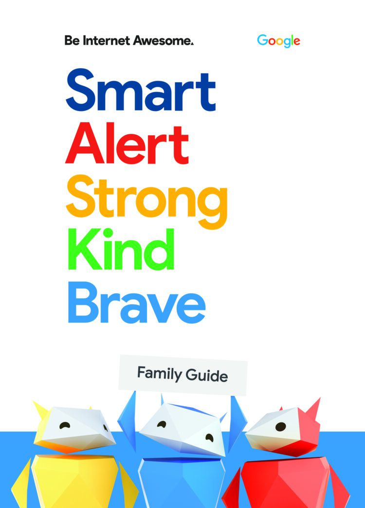 Google Be Internet Awesome Family Guide Cover Image