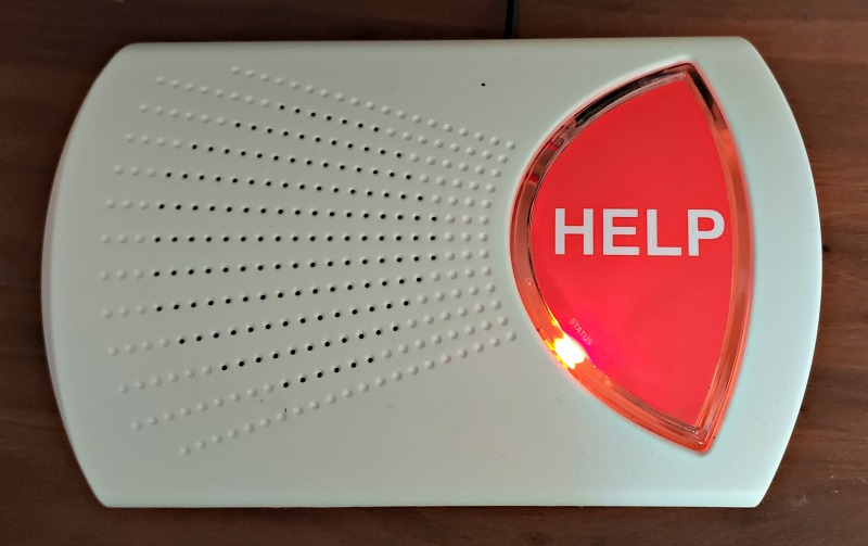 Bay Alarm Medical Help Button Orange
