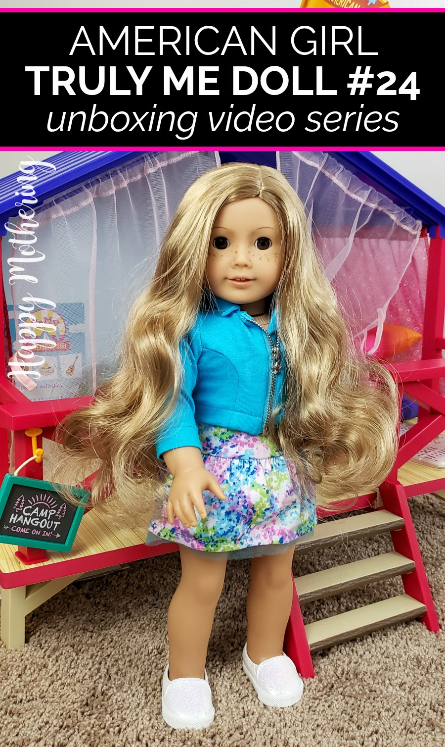 Have you seen an American Girl Truly Me doll up close before? Watch Kaylee and I unbox Truly Me Doll #24 and see all her adorable details up close.