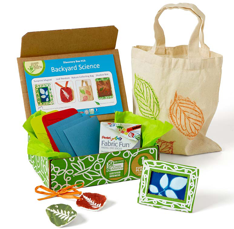 Backyard Science box from Green Kid Crafts on white background