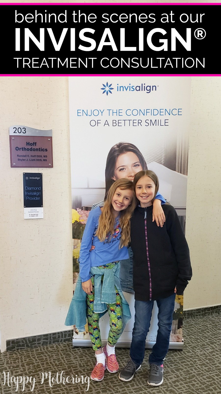 Have you considered Invisalign treatment for your child? Watch our initial Invisalign consultation and see if our daughters qualified for treatment!