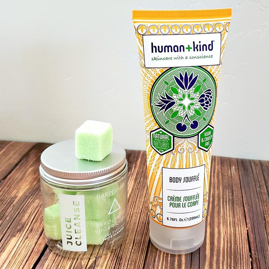 Body care products from FabFitFun Fall 2019 box