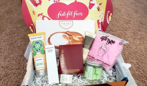 All products from FabFitFun Fall 2019 box