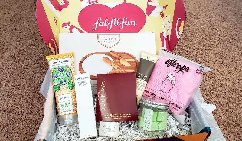 All products from FabFitFun Fall 2019 box