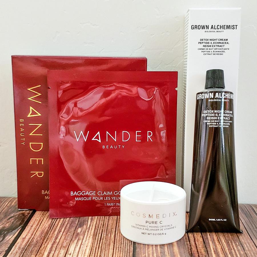 Skincare products from FabFitFun Fall 2019 box