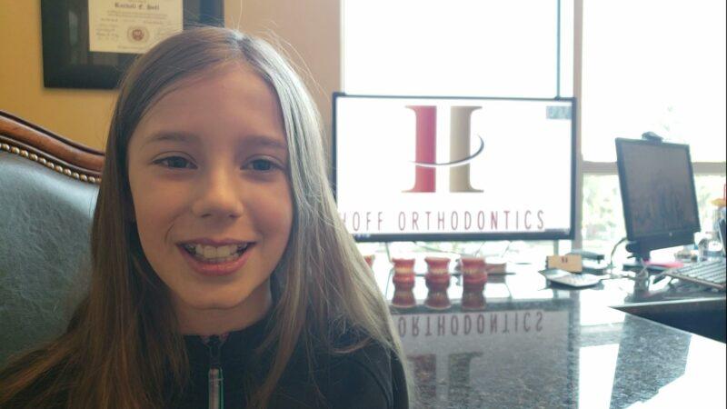 Zoe at Hoff Orthodontics